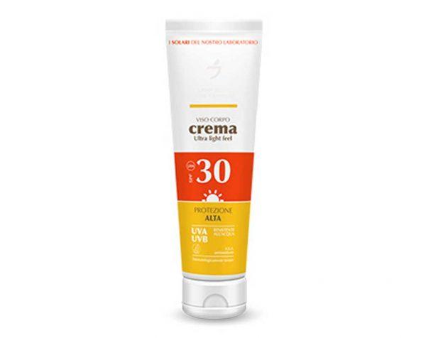 LDF Crema solare Viso Corpo Crema SPF 30 150 ML