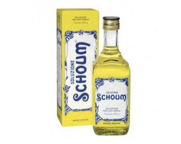 Soluzione Schoum soluzione orale 550 gr