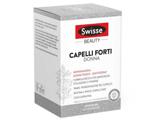Swisse Capelli Forti Donna 30 Compresse