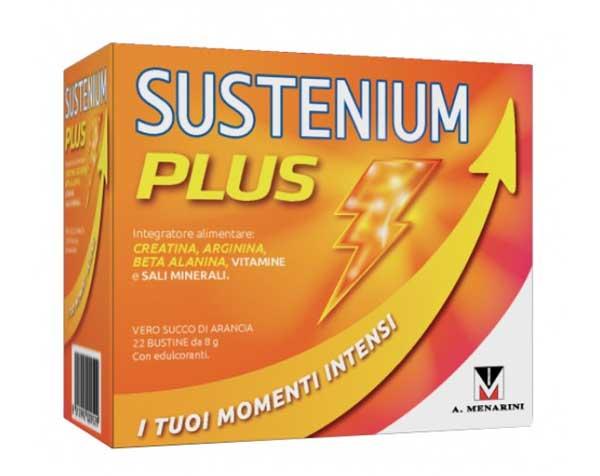 SUSTENIUM PLUS Integratore 22 Bustine