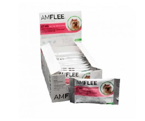 AMFLEE spot-on soluzione 3 pipette 0,67 ml 67 mg cani da 2 a 10Kg