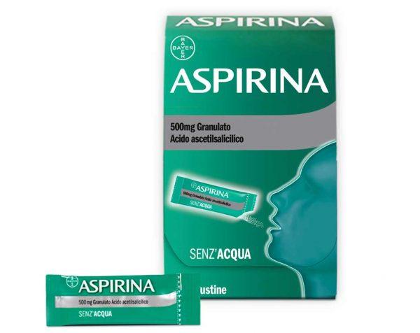 ASPIRINA granulato 500