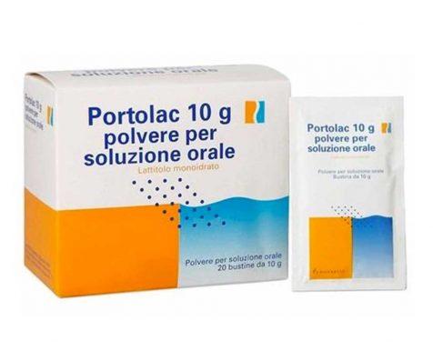 PORTOLAC soluzione orale