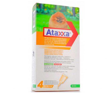 ATAXXA 40 MG/200 MG SOLUZIONE SPOT-ON PER CANI FINO A 4 Kg