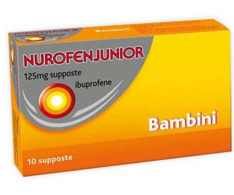 Nurofenjunior Bambini 125 mg supposte